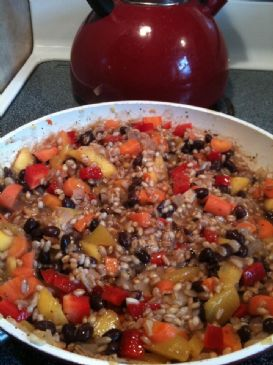 Black Bean & Mango Pilaf