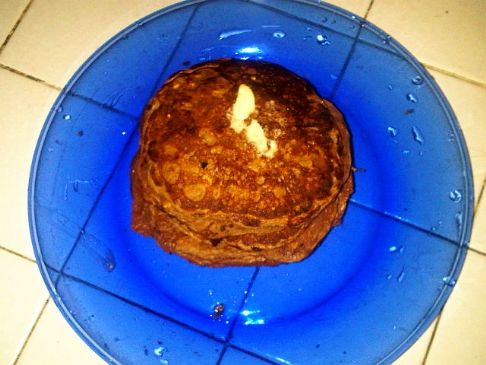 Chocolate Protein Pancakes **High Protein/ Low Fat
