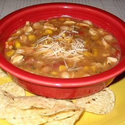 Tomatillo Chicken Chilli