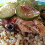 Moroccan Chicken and Couscous