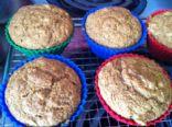 Acorn Squash Muffins--vegan