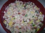 Caribbean Shrimp Summer Salad