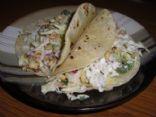 Roasted Corn Slaw Tacos