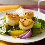 Scallop & Orange Salad