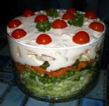 Layered Luncheon Salad
