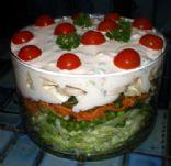 Layered Luncheon Salad