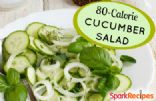 Cucumber Salad in Vinegar with Onion
