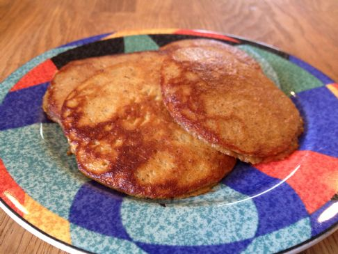 SCD Sweet Potato Pancakes