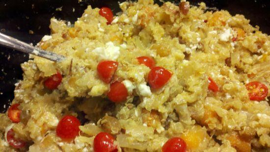 Crockpot Almond Quinoa