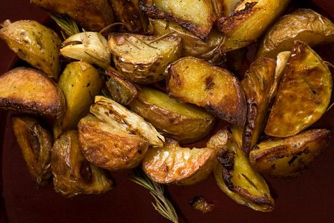 Roasted Rosemary Seasoned Potatoes