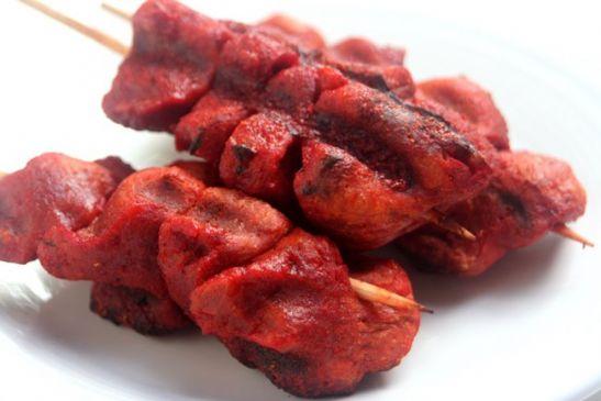 VeganDad: Grilled Tandoori Seitan