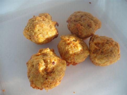 Mini Carrot Muffins