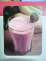 CMR Banana-Raspberry Smoothie