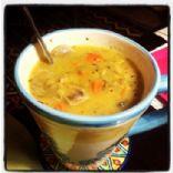 High Protein Lentil Soup