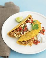 Slow-Cooker Chili Chicken Tacos