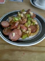 Spicy Kielbasa with Mixed Veggies