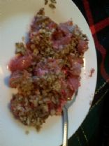 Jello Rhubarb Crisp