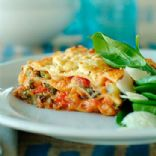 Turkey Spinach Lasagne