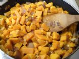 Onion Ginger Sweet Potatoes