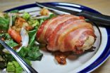 Bacon-wrapped Chicken Breasts Stuffed with Goat Cheese and Spinach