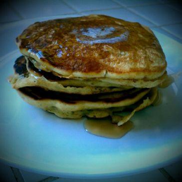 Pumpkin Persimmon Pancakes