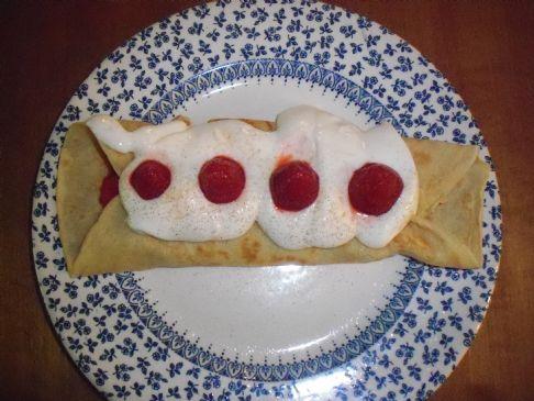 Gluten Free Crepe Suzette