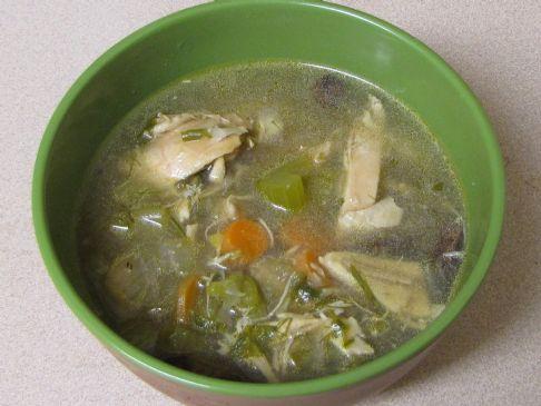 Mom's Flu Killer Chicken Soup