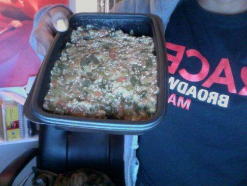Okra Tomato Spinach Stew