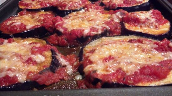 Clean Eggplant Parm (no breading)