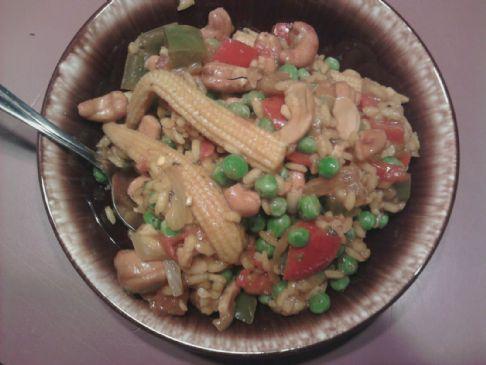 Cashew Rice Paella