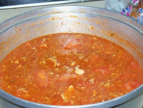 healthy hearty chili