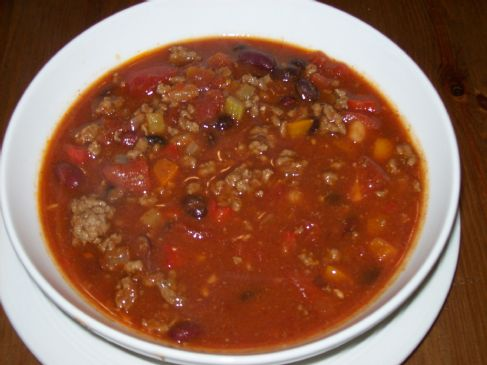Slow Cooker V8 Chili Stew