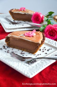 No Bake Mississippi Mud Pie (raw & vegan)