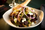 Roasted Beets with Gorgonzola, Walnuts & Arugula