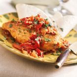Chicken with Roasted-Red Pepper Sauce