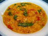 Readers Digest - Lemony Lentil Soup with Baby Spinach / Swiss Chard