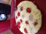 Tomato and Swiss Egg Bake