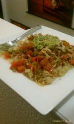 Salsa Smothered Shredded Chicken