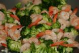 Coconut Broccoli & Shrimp Stirfry