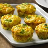 Egg Beaters Crustless Mini Vegi-quiches