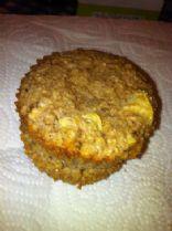 Apple, Bran & Nut Muffins (VEGAN, Candida diet friendly)