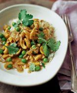 Cashew Nut & Pea Curry