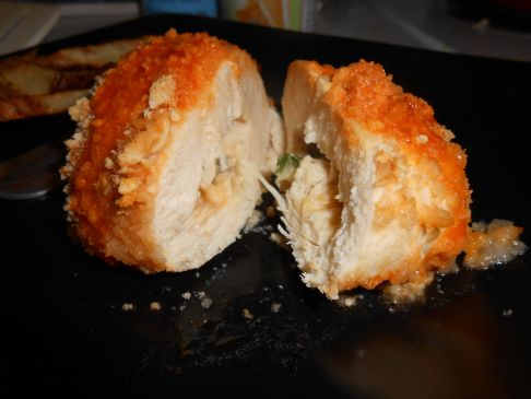 Stuffed Buffalo Chicken Breasts
