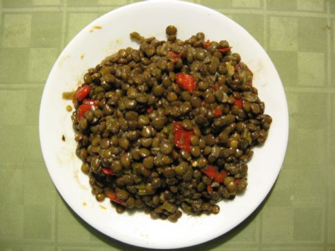 Lentils, a touch of Zing