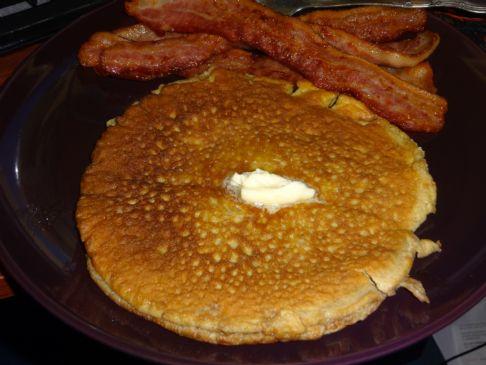 Almond Butter Pancake (no grain!)