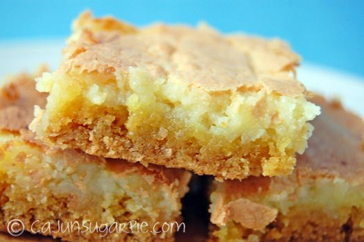 Ooey Gooey Butter Cake Recipe Sparkrecipes