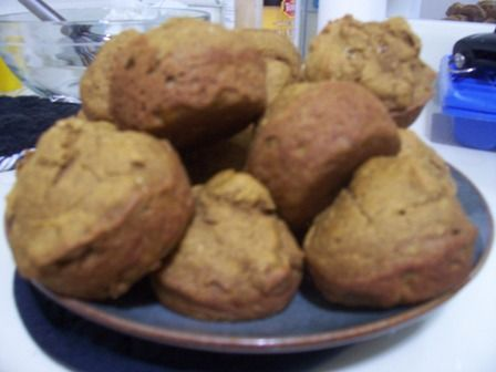 Chai spiced pumpkin muffins