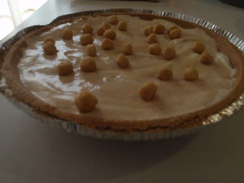 Lowfat peanut butter pie with 1/2 Splenda
