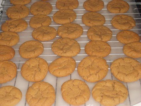 South Beach Friendly Peanut Butter Cookies