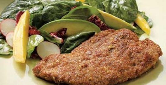 Nut Crusted Chicken Breast